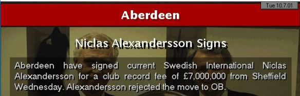 Alexandersson signs
