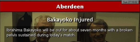 Bakayoko injury