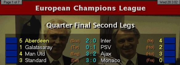 CL QF results S5