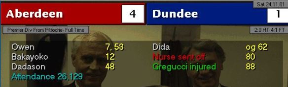 Dundee 4-1