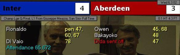inter 4 - 3 aberdeen
