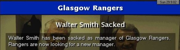 Rangers sack Smith