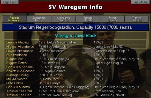 Waregem info