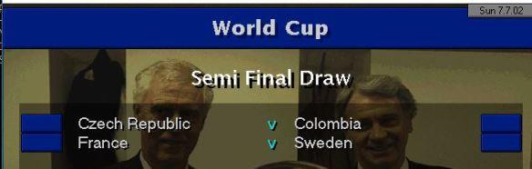 WC SF draw
