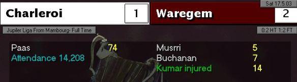 2-1 Charleroi