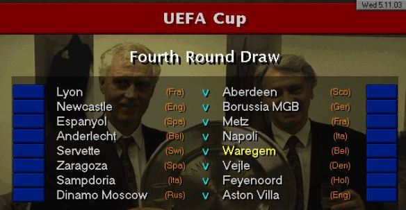 4th round draw