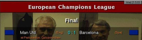 BArcelona CL win