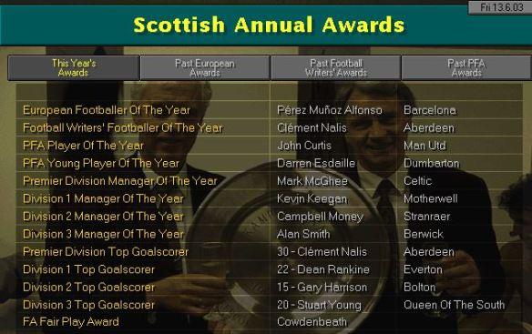 Scots awards S6