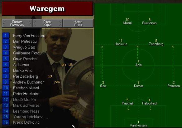 Waregem S7 game 1