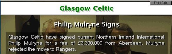 mulryne to celtic