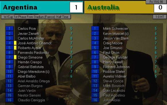 argentina australia HT ratings