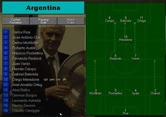 argentina tactics vs spain