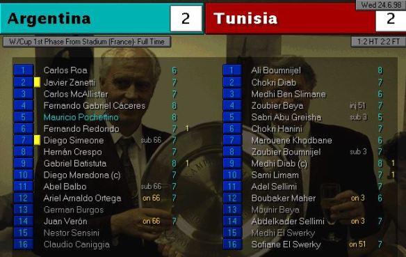 argentina tunisia FT ratings