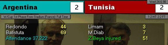 argentina tunisia scoreboard