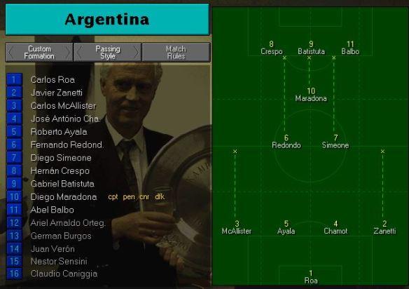 Argentina vs Australia Tactics
