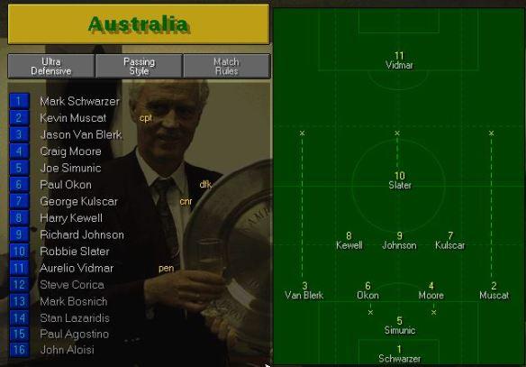Australia vs Argentina Tactics