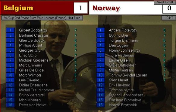 belgium norway HT ratings
