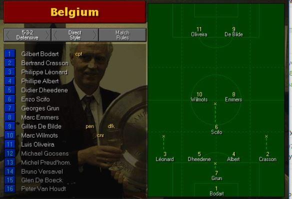 belgium tactics vs germany