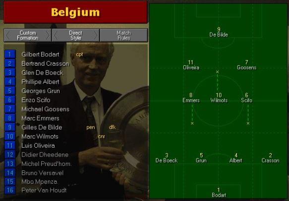 belgium team vs mexico
