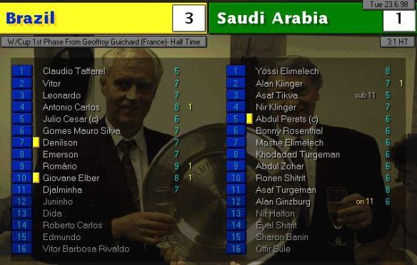 brazil saudi HT ratings