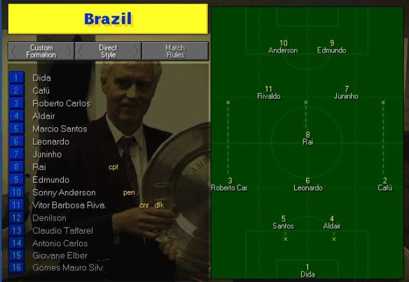 brazil tactics vs france