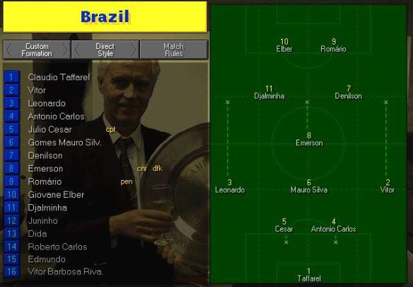 Brazil tactics vs Saudi