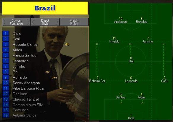 Brazil vs Denmark