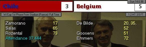 chile 3 - 5 belgium