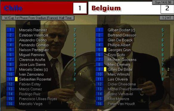 chile belgium HT ratings