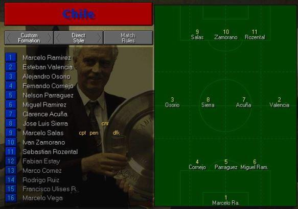 Chile vs Belgium tactics