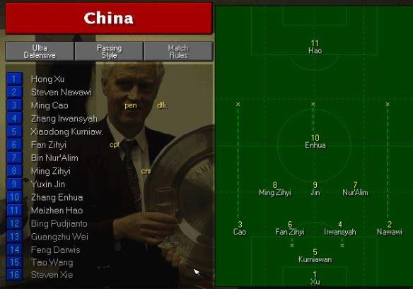 china tactics vs france