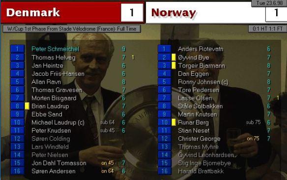 denmark norway FT ratings