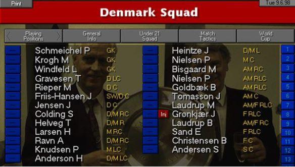 denmark squad