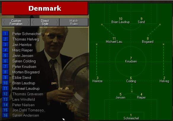 Denmark vs Brazil