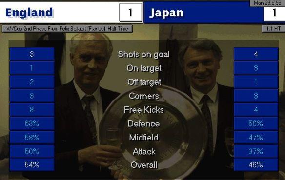 england japan HT stats
