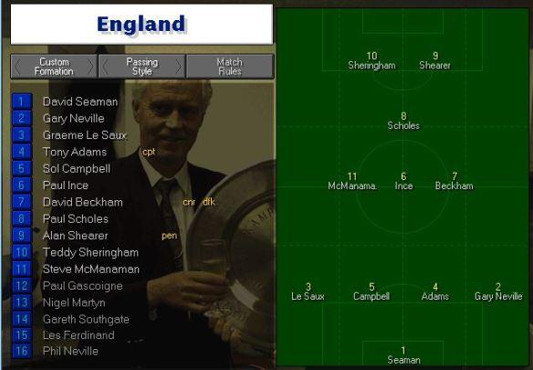 England tactics vs Japan