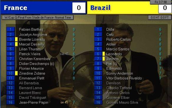 france brazil FT ratings