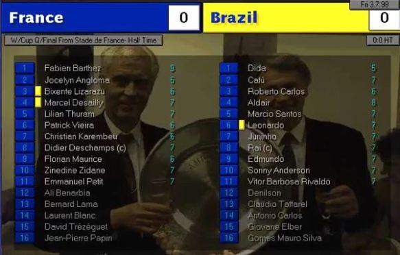 france brazil ht ratings