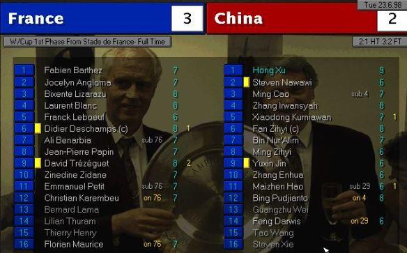 france china ratings
