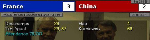 france china scoreboard