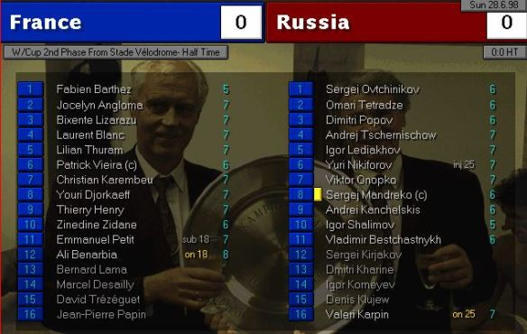 france russia HT ratings