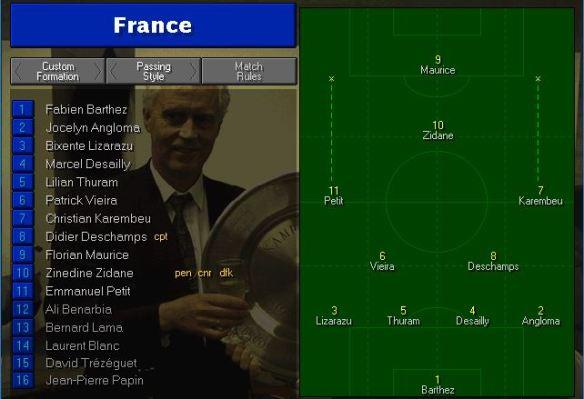 France tactics vs Brazil
