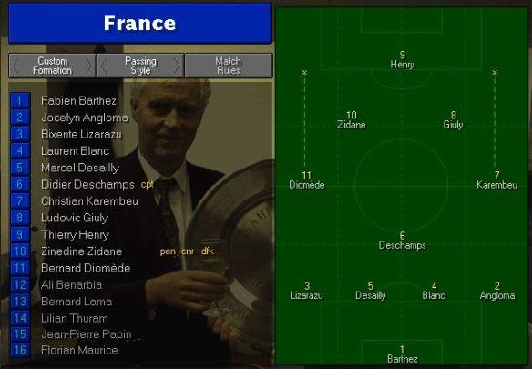 france team vs morocco