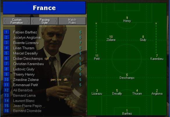 France vs USA Tactics