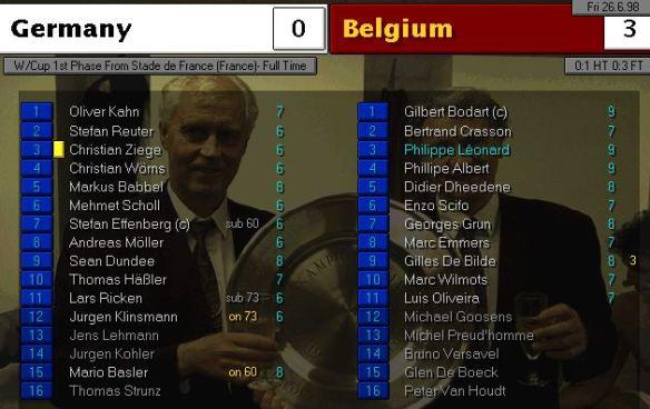 germany belgium FT ratings