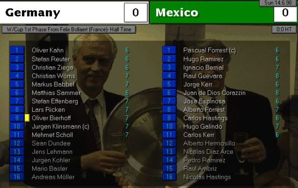 germany mexico HT ratings