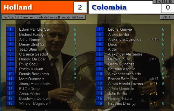 holland colombia HT ratings