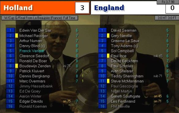holland england FT ratings