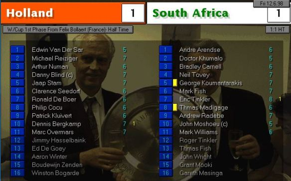holland south africa HT