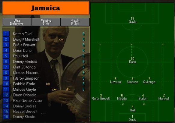 jamaica tactics vs nigeria